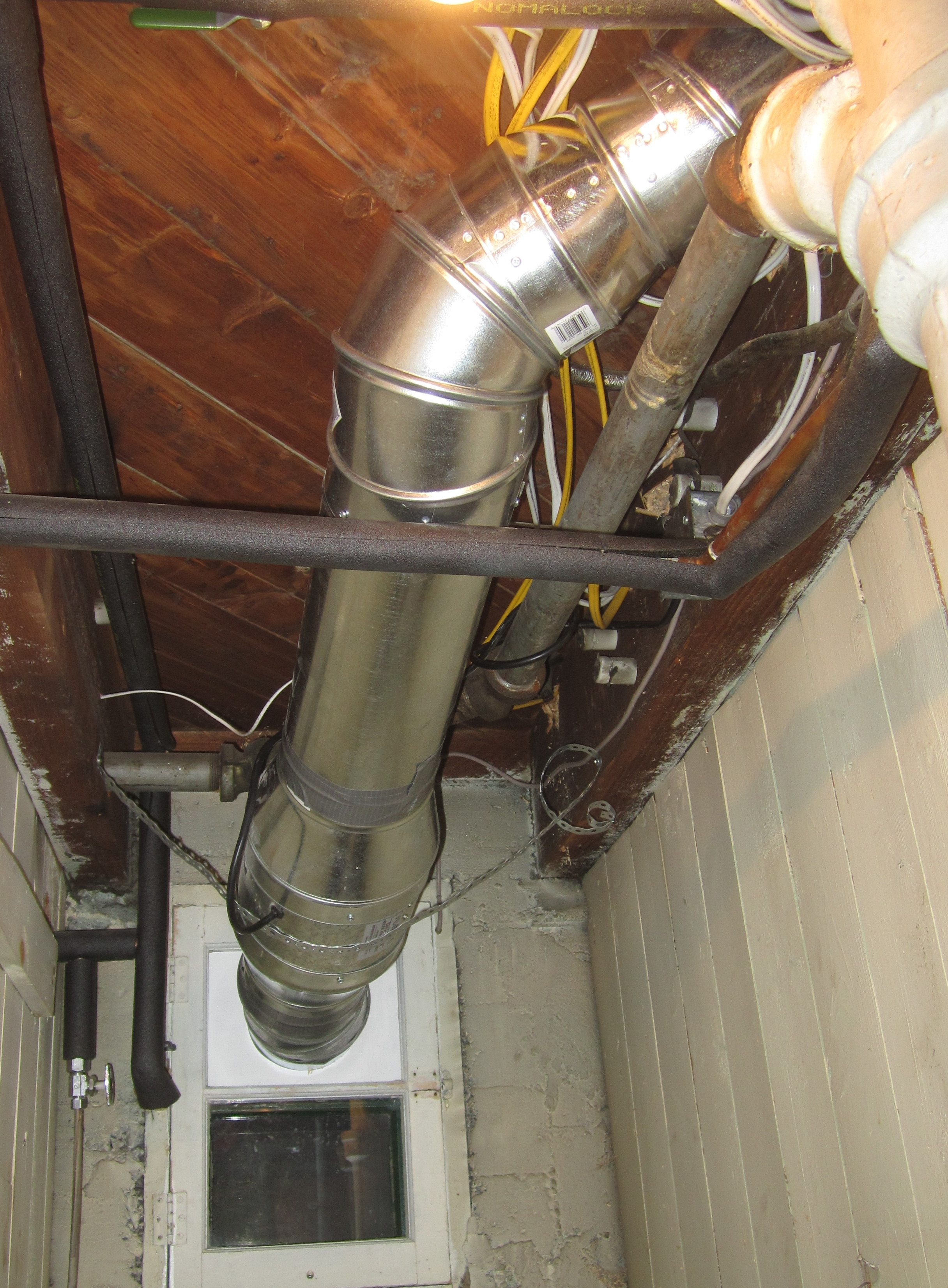 kitchen ventilation ducting